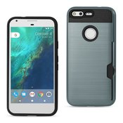 REIKO GOOGLE PIXEL SLIM ARMOR HYBRID CASE WITH CARD HOLDER IN NAVY