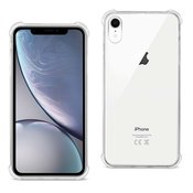 iPhone XR Clear Bumper Case With Air Cushion Protection In Clear