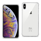iPhone XS Max Clear Bumper Case With Air Cushion Protection In Clear