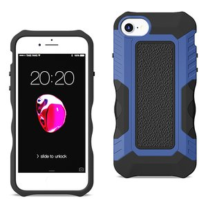 APPLE IPHONE 8 Front Cover Case In Black/Blue
