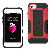 APPLE IPHONE 8 Front Cover Case In Black/Red
