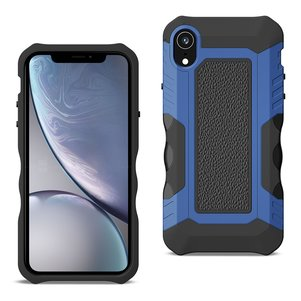 APPLE IPHONE XR Front Cover Case In Black/Blue