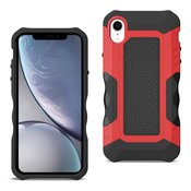 APPLE IPHONE XR Front Cover Case In Black/Red