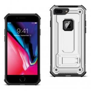 APPLE IPHONE 8 PLUS Case With Kickstand In Silver