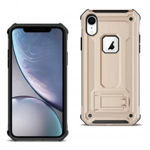 APPLE IPHONE XR Case With Kickstand In Gold