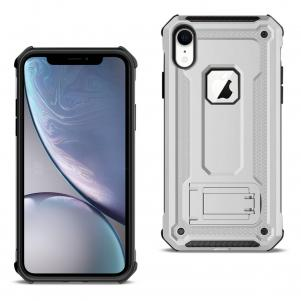 APPLE IPHONE XR Case With Kickstand In Silver